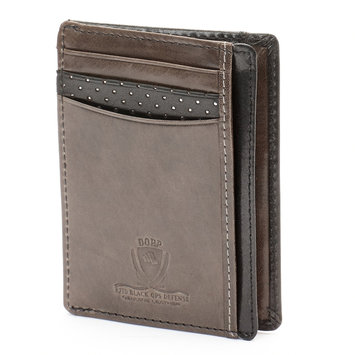 Dopp RFID Black Ops Front Pocket Get-Away Wallet