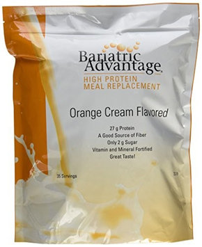Bariatric Advantage High Protein Meal Replacement Orange Cream 35 Servings