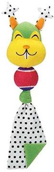 Grriggles FUNdamentals Tennis Tail Dog Toy Bear