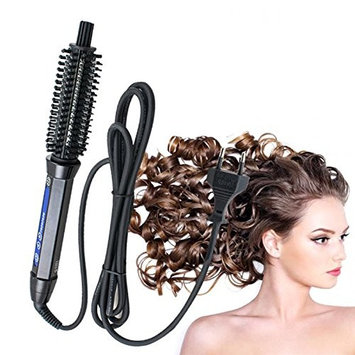 Carejoy Hair Curler Brush Electric Brush Comb for Faster Curling Styling Professional Iron Spin Salon Hot Air Hair Brush Beauty Care 110V
