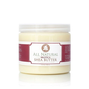Organic Natural East African Nilotica Shea Butter - Nature's Shea Butter - 16 ounces
