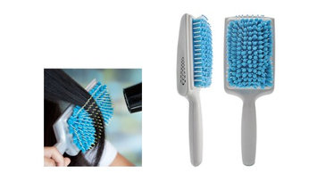 Yphone Universal Goody Quick Style Paddle Hair Brush and Combs Microfiber Mag