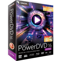 Spa Inc Consign Cyberlink PowerDVD v.16.0 Ultra - Video Editing - Box - PC