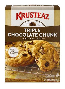 Krusteaz Cookie Mix Triple Chocolate Chunk