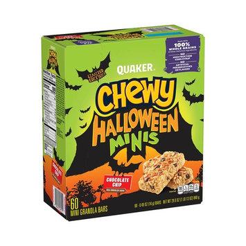 Quaker Chewy Mini Halloween Granola Bars, 60 ct.