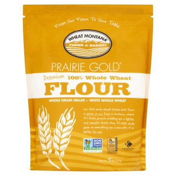 Wheat Montana Farms & Bakery Wheat Montana, Flour Wheat Prairie Gold, 5 Lb (Pack Of 8)