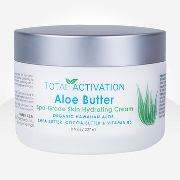 Aloe Butter, Exquisite Skin Rejuvenation Cream, Luxurious Hydration for Face and Body, Non-Greasy, 8 oz
