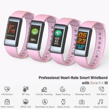 Indigi Fitness Watch Smart Bracelet & Wristband - Bluetooth 4.0 w/ Heart Rate / Blood Pressure / Sleep Monitor / Calorie