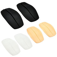 Lady Up Soft Silicone Bra shoulder Strap Pads Non-slip Cushions, 6-Pack