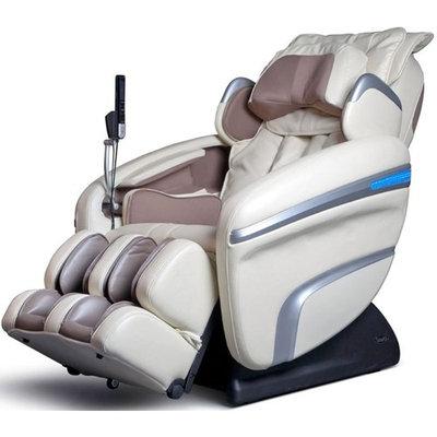 Osaki OS7200HD Model OS-7200H Executive ZERO GRAVITY S-Track Heating Massage Chair, Cream, Computer Body Scan, Arm Massage, Quad Roller Head Massage System, 51 Air Bag Massagers