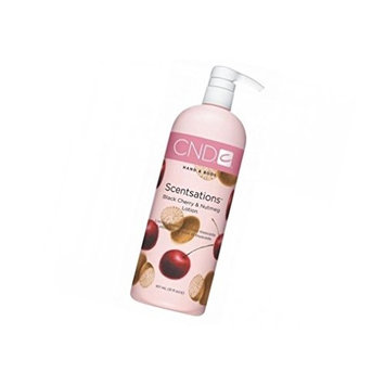 Lotion Hand and Body Scentsations Lotions BLACK CHERRY & NUTMEG Big Harmonious blends of fresh, clean fragrances are like candy for the senses : Size 31 fl oz