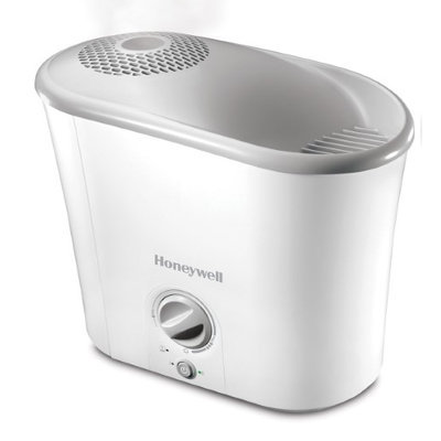 Honeywell HWM340W Humidifier, Easy To Care Warm Mist For Large Rooms White