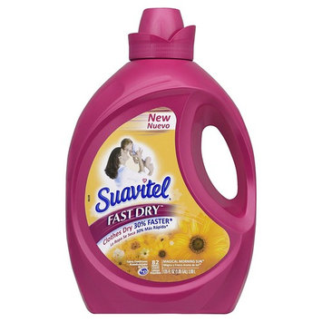 Suavitel Fast Dry Fabric Conditioner, Magical Morning Sun, 50 Ounce [Magical Morning Sun]