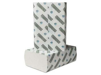 Boardwalk Green Plus Multifold Towels, 9 1/8x9 1/2, White, 250/Pk, 16