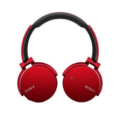 Sony - Mdr Xb650bt Bluetooth Headset - Red