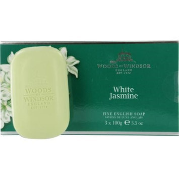 Woods Of Windsor 221864 White Jasmine Soap - 3.5 oz.
