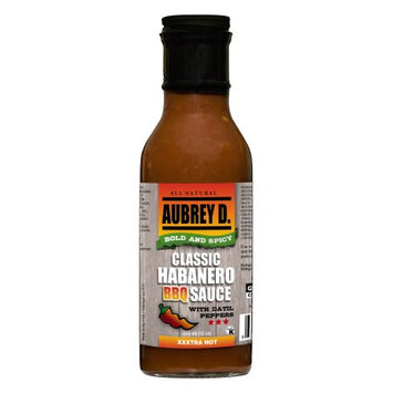 Hot, Tangy and Zesty, the Saucy Aubrey D. Classic Bold & Spicy Habanero Bbq Sauce Brings Exotic Taste to Any Classic Grill
