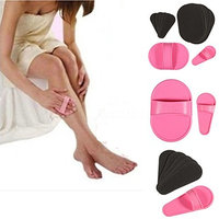 Smooth Away Legs Skin Pads Arm Face Hair Removal Remover Exfoliator Set Kit USA