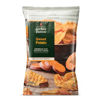 Herr's Crinkle-Cut Sweet Potato Chips 8 oz - Archer Farms