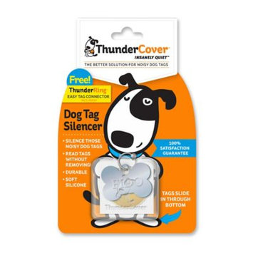 Thundershirt TS01347 Thundercover Food, Clear - 4 Count