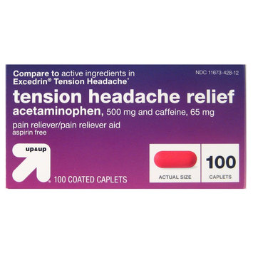 up & up Tension Headache Coated Caplets - 100 Count