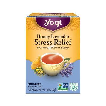 East West Tea Yogi Stress Relief Honey Lavender Herbal Tea Bags 16ct