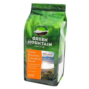 M Block Green Mountain Coffee Decaf Colombian Ground Coffee 12oz