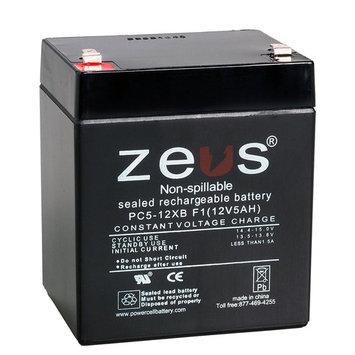 UPG UB1250 Sealed Lead Acid Batteries (ZEUS Replacement) ZEUS PC5-12XBF1