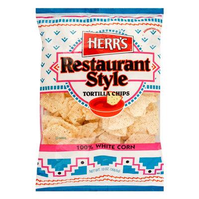 Herr's Restaurant Style Tortilla Chips 13 oz