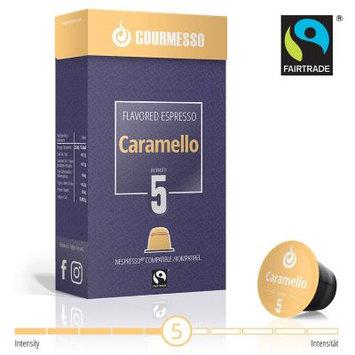 Caramel - 10 Nespresso? Compatible Coffee Capsules $0.50/pod: Soffio Caramello