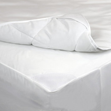 AllerEase 2-in-1 Waterproof Allergy Protection Mattress Pad-White (Full), Variation Parent