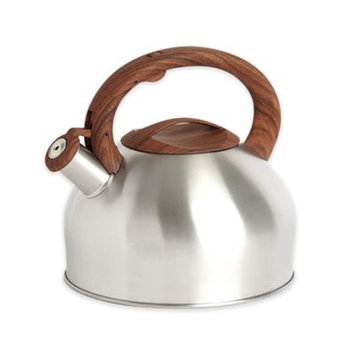 Sharper Image® 3.2 qt. Tea Kettle with Wood Soft Spray Handle in Stainless Steel