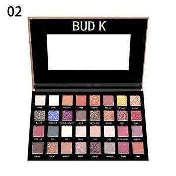 Creazy Fashion 32 Colors Eyeshadow Palette Luxury Golden Matte Nude Eye Shadow Palettes (B)
