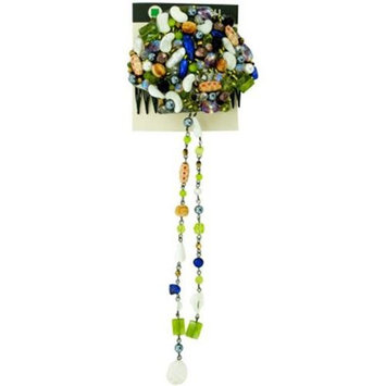 Bulk buys Hair Comb with Assorted Beads
