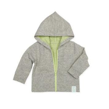 Robeezr Infant Robeez Cotton Blend Hoodie, Size 3-6M - Grey