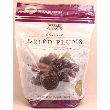 Berkley & Jensen Gourmet Dried Plums (44 oz) Resealable Zipper