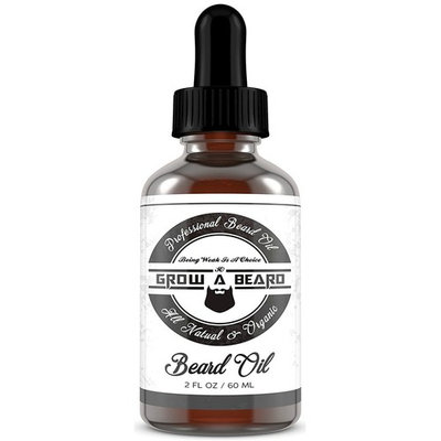 Grow A Beard Oil - Organic With Argain Fragrance - Add Shine & Style In Your Beard - Smooth Shape And Moisturize - Relieves Itching for Strong & Healthy Beard - Vegan Friendly For All Beards – 2oz