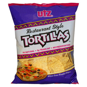 Utz Quality Foods Utz Restaurant Style Tortilla Chips 11.5 oz