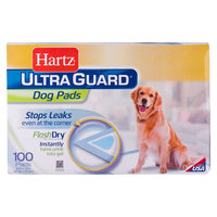 Hartz Mountain Corporation Hartz Ultra Guard Dog Pads Flash Dry 100 ct