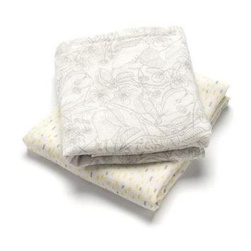 Storksak Baby Swaddle Blanket, Pack of 2, Multi