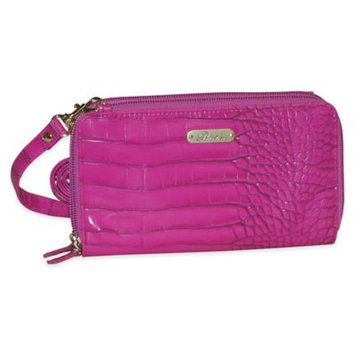 Buxton Nile Exotic Dual Zip-Around Convertible Ultimate Organizer, Women's, Light Pink
