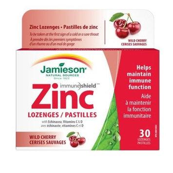 Jamieson Wild Cherry Zinc Lozenges, 30 Lozenges
