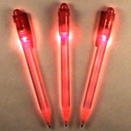 Blinkee Red Tip Pen with White LED