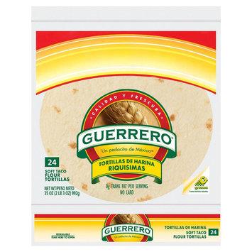 Gruma Corporation Guerrero Flour 24ct 35oz Taco Riquma