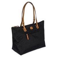 Bric's Milano X-Bag Large Sportina 3-Way Shopper Tote Bag (Black)