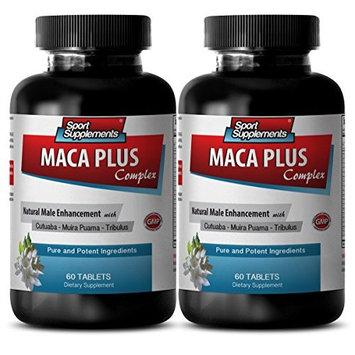Muira puama 500 mg - Maca Plus Complex - Enhances sexual activity (2 Bottles - 120 Tablets)