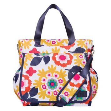Trend Lab French Bull Tote Diaper Bag Sus Multi - Trend Lab Diaper Bags & Accessories