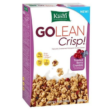 Kashi GoLean Cereal, Crisp Toasted Berry Crumble, 15 oz (Pack of 4)