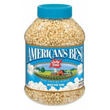 Jolly Time American's Best White Popcorn Kernels, 30 Ounce (Pack of 6)