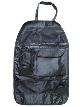 Meso Car Seat Organizer Holder Multi-Pocket Headrest Storage Bag Hanger Carrier (Black)